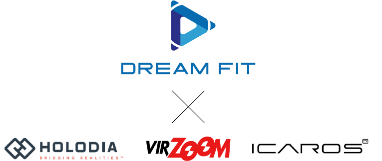 DREAM FIT × HOLODIA & VIR ZOOM & ICAROS